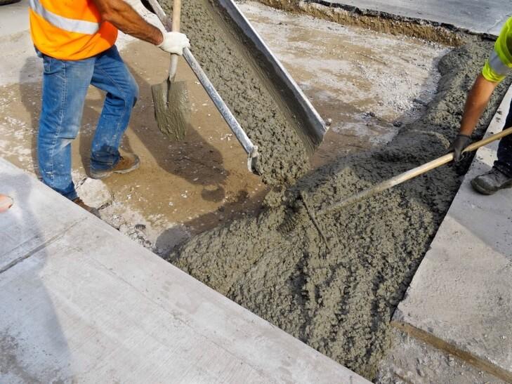Закупает бетон раствор готовый отделочный тяжелый цементный цена за м3